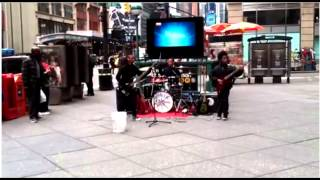 Little Kids Play Heavy Metal Music In Nyc!!!