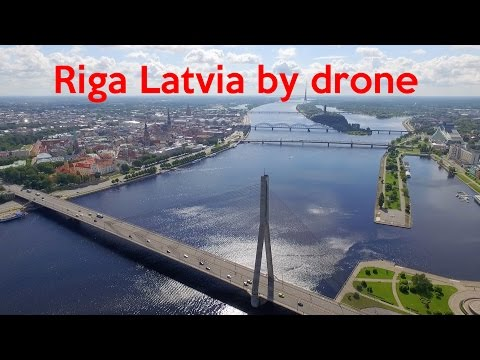 Epic Riga & surroundings (Latvia) by Drone