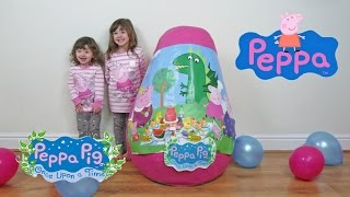 New 2016 PEPPA PIG SUPER GIANT EGG SURPRISE Toys Fun Toys Kids Video The Disney Toy Collector