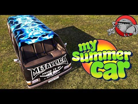 My Summer Car - ЧЕРНЫЙ ФУРГОН