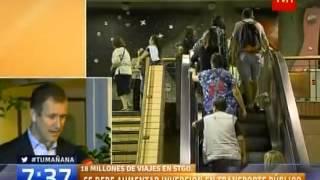 TVN NOTICIERO MATINAL - ENTREVISTA PROFESOR INGENIERÍA EN TRANSPORTE UC JUAN CARLOS MUÑOZ