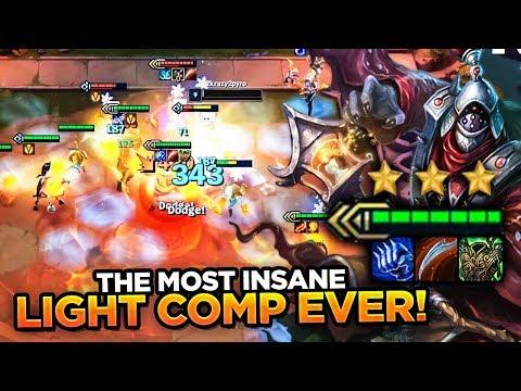 5000 HP JAX WITH 6 LIGHT BUFF! LITERALLY UNKILLABLE! | Teamfight Tactics