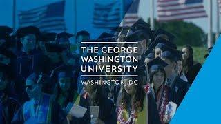 The George Washington University Commencement 2017