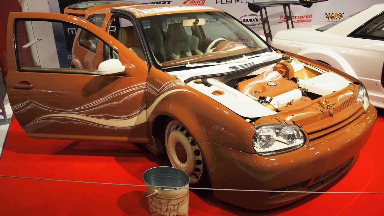 volkswagen golf 4 gti 2002 tuning at essen motorshow. Black Bedroom Furniture Sets. Home Design Ideas