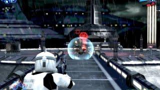 Star Wars Battlefront 1 gameplay Kamino Clone Wars  mission 5