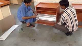 Shoe Rack Assembly Urban Md & Sd Series