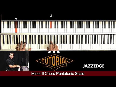 Minor 6 Chord Pentatonic Scale Piano Lesson