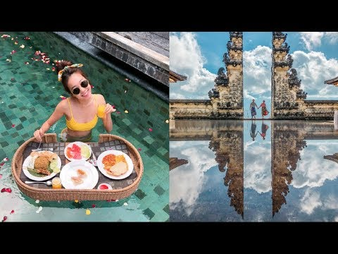 BALI GUIDE TRAVEL VLOG 2018 | Nusa Penida, Pura Lempuyang, Tirta Gangga