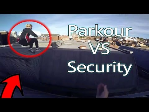 Parkour VS Security - Real Chase Situation (AMAZING!!)