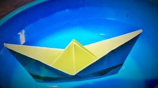 Origami : Cara Membuat Perahu Kertas