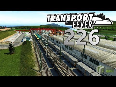 Warenstau in Lampe 🚆 ► [226] ► Let's Play Transport Fever German