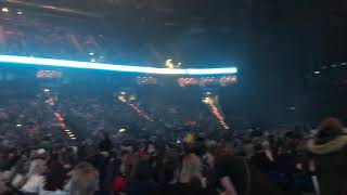 "Crowd singing ""Olivia"" by One Direction before Harry Styles Concert in Hamburg 25.03.2018 #1d"