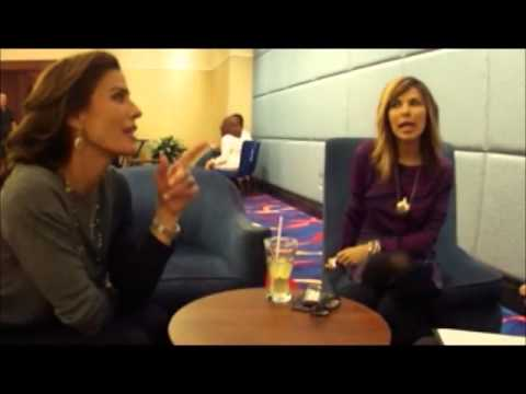 Kristian Alfonso Talks about Working with John Stamos