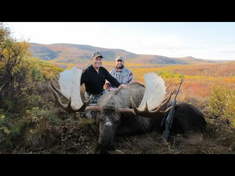 """""""Growth"""" Modern Day Mountain Man, Moose and Grizzly Bear Hunting with Guide, Billy Molls"""
