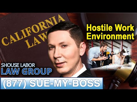 Hostile Work Environment? 3 Situations Where You Can Sue