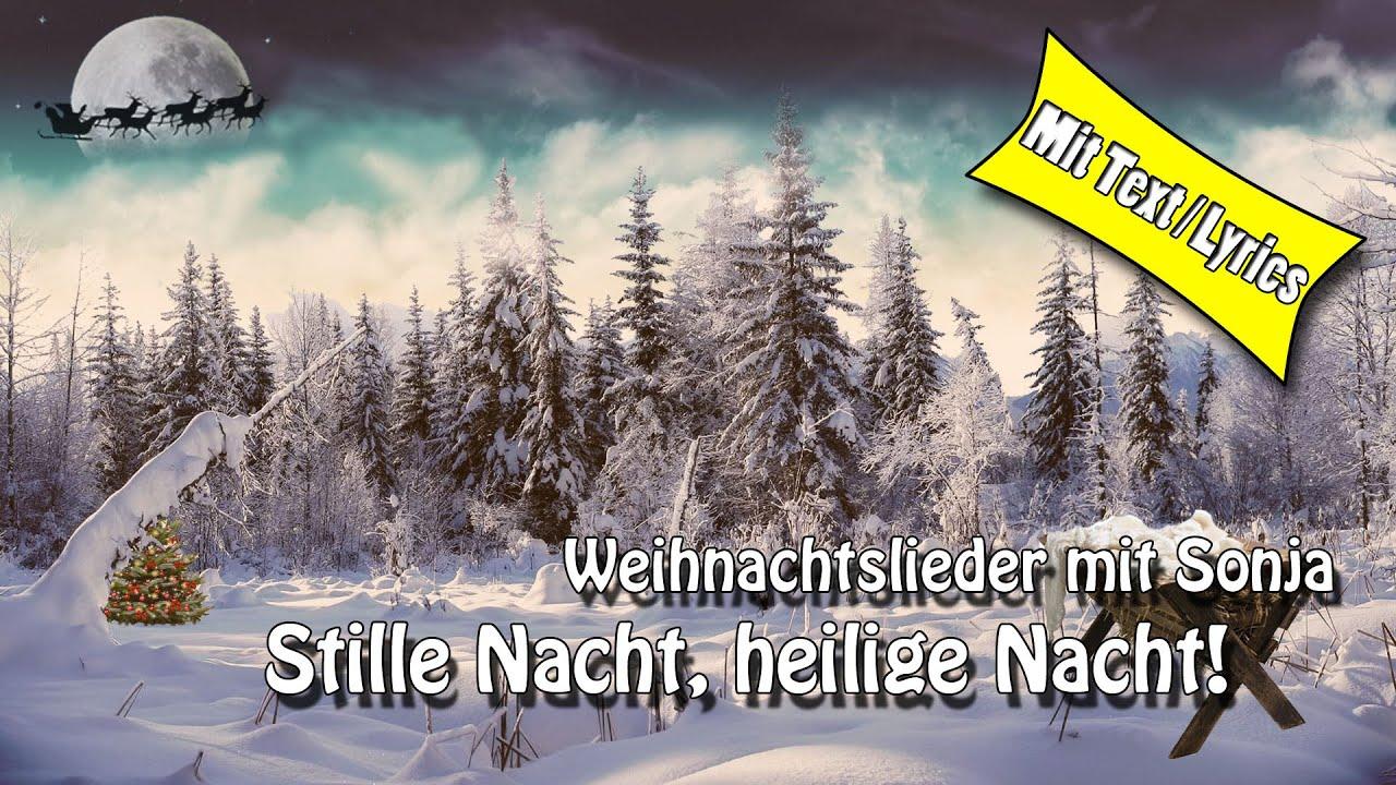 Weihnachtslieder / Christmas Song - Stille Nacht, heilige Nacht ...