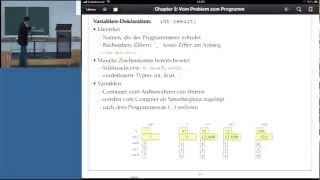 Grundlagen der Informatik, Professor Froitzheim, Vorlesung 03, Teil II, 23.10.2012