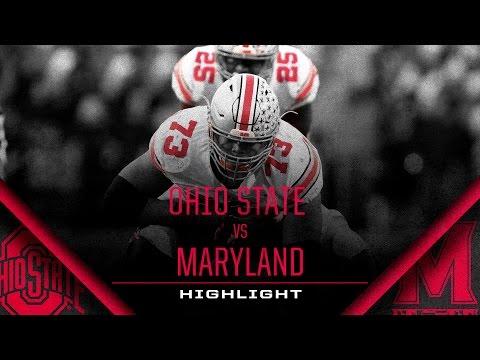 Ohio State Football: Maryland Highlight