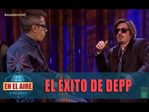"""Johnny Depp: """"La clave de mi éxito es guarrear un poco"""" - En el aire"""
