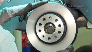[* VW GOLF 5 *]( BREMSEN VORNE WECHSELN ) Bremsbeläge und Bremsscheiben wechseln