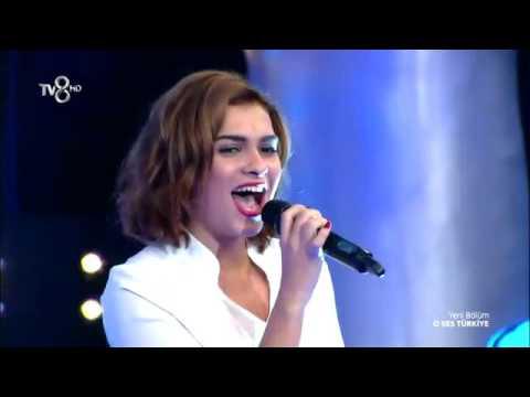 Busegül Yalçın   New York State Of Mind İlk Performans O Ses Türkiye