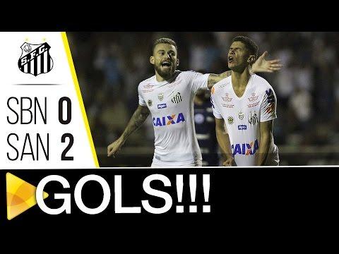 São Bento 0 x 2 Santos | GOLS | Paulistão (22/03/17)