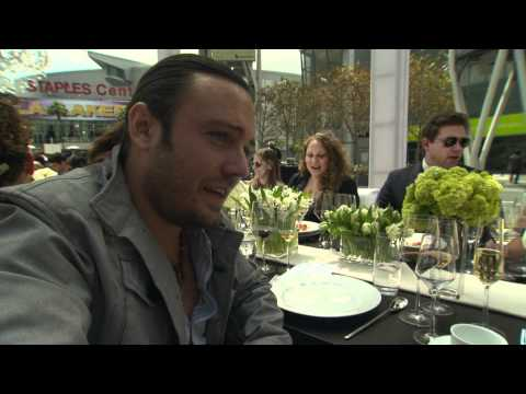 David Myers Interview 2 at the LA Food & Wine Launch Event