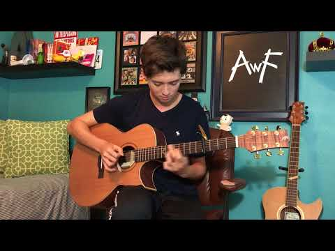 Portugal The Man  Feel It Still   Fingerstyle Guitar
