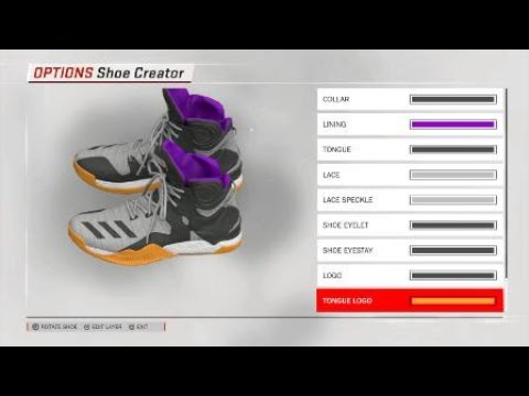 newest collection f58b8 b991e NBA 2K17 Shoe Creator - Adidas Harden 1