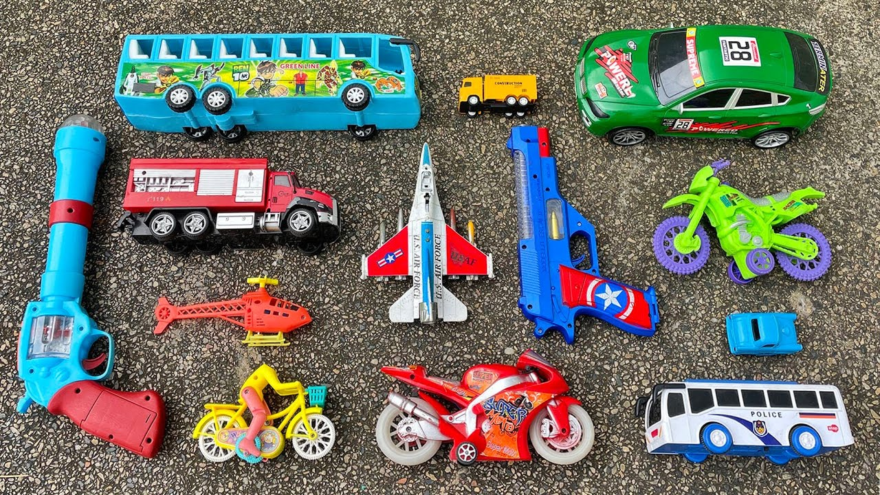I reviewed with you some toy vehicles, pistols, helicopter, Mig29 US fighter by PlayToyTime TV