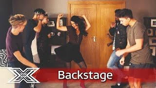 The X Factor Backstage with TalkTalk: The Contestants get their groove on | The X Factor UK 2016