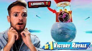 cela n'arrive que tous les 1.000.000 jeux à Fortnite !! 😱😱