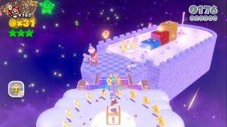 Super Mario 3D World 100% Walkthrough Part 41 - World Crown ...
