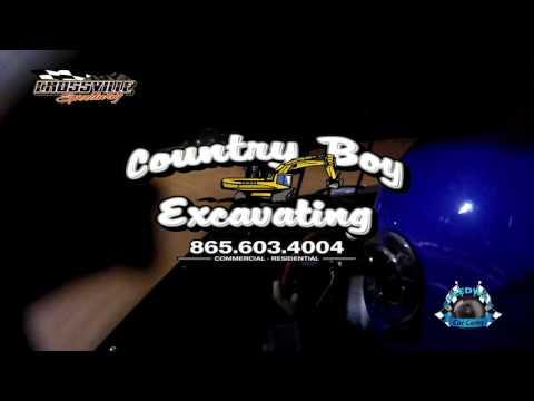 #31 Jeff Porffitt - Street Stock - 5-19-17 Crossville Speedway - In-Car Camera