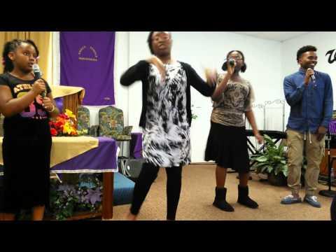 Pastor Charles c the Sherwood singers