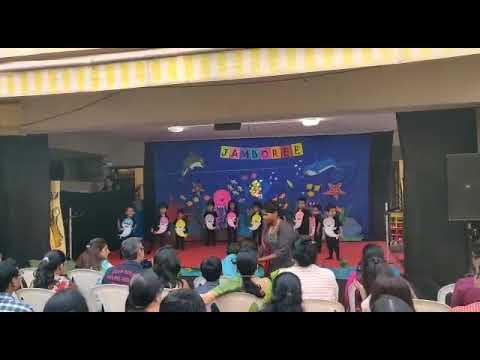 Aryavardhan Singh performance in Happy Trails School annual function ????????????