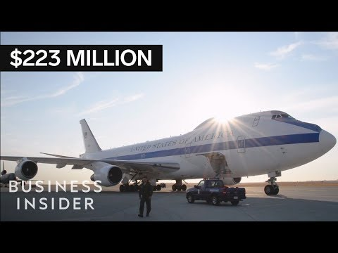 Inside The Military's $223 Million 'Doomsday Plane'