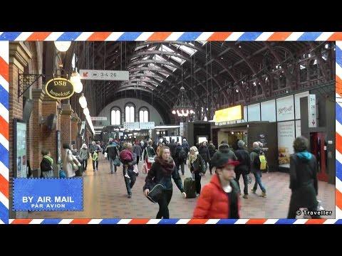 Copenhagen Central Station - Københavns Hovedbanegård - Copenhagen´s main train station