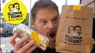 Guzman Y Gomez Spicy Pork Burrito Review