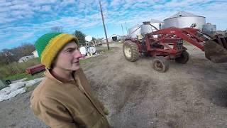 Gravity Wagon and Header Cart Action!