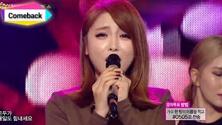 [Comeback Stage] Hong Jin Young - Cheer up, 홍진영 - 산다는 건, Show Music core 20141101