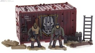 Mega Construx Call of Duty Mercenary Outpost Armory review