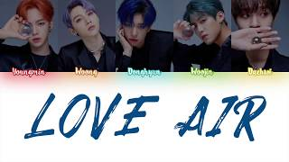 ab6ix 에이비식스 - \'love Air\' s color Coded Han_rom_eng