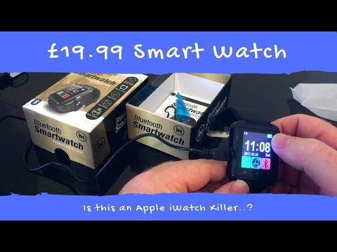 In Tech Bluetooth Smart Watch Review