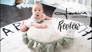 Review | Lorena Canals Machine Washable Rugs! ABC Round Rug + Cushion