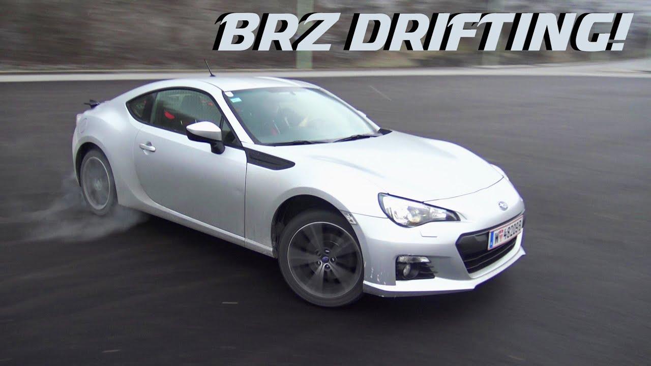 Subaru BRZ - Crazy Drifting! - YouTube