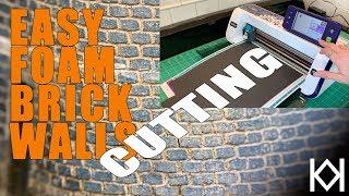 Foam Brick Walls - Cutting the Walls