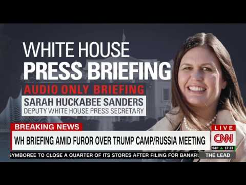 Huckabee Sanders slams impeachment article as 'utterly and completely ridiculous,' ends briefing