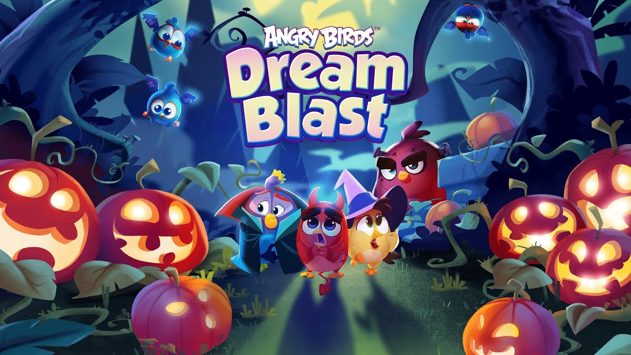 Angry Birds Dream Blast | Halloween Event