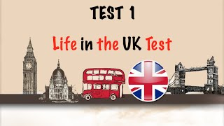 ?? Life in the UK Test 2016 - Citizenship Test Free Practice-TEST 1 ?
